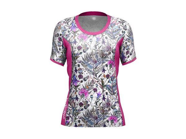 Crazy Idea W Sirio T- shirt Print Felci white