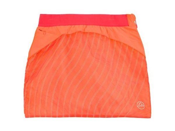 La Sportiva Chrysalis Primaloft Skirt W pumpkin/garnet