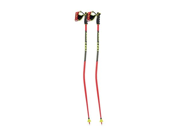 Leki WC Racing GS neon red/neon yellow/black/white