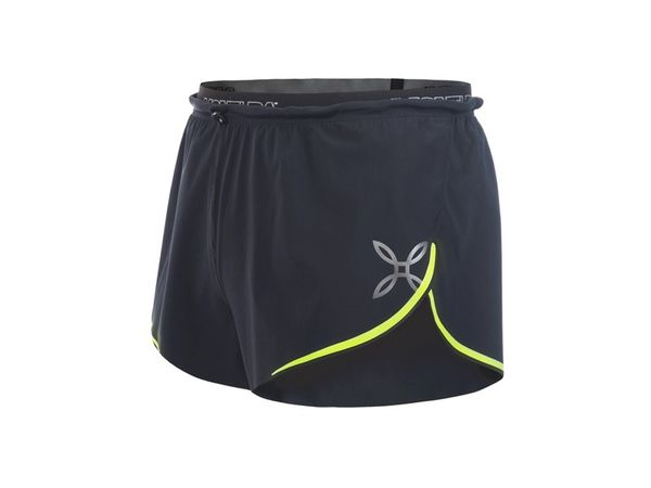 Montura Marathon 2 shorts nero/giallo fluo