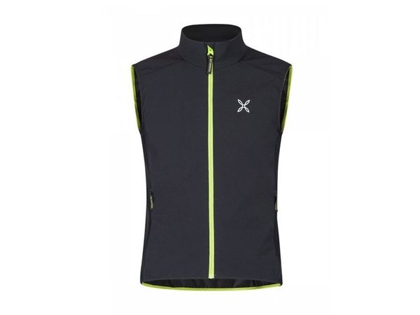 Montura Run Flash Vest nero/verde acido