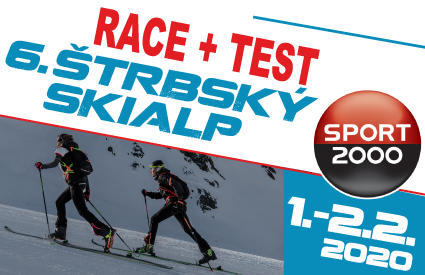 6. Štrbský skialp race + test 2020