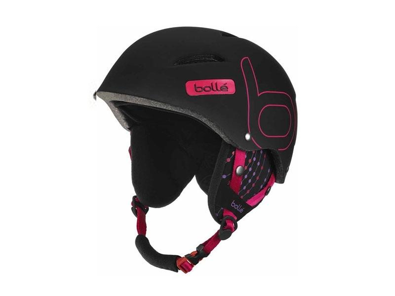 Bolle B-style Helmet schwarz/pink - 54–58