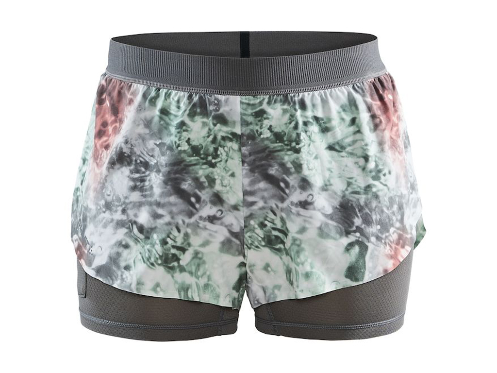 Craft Vent 2v1 Shorts W multi/neo - XS