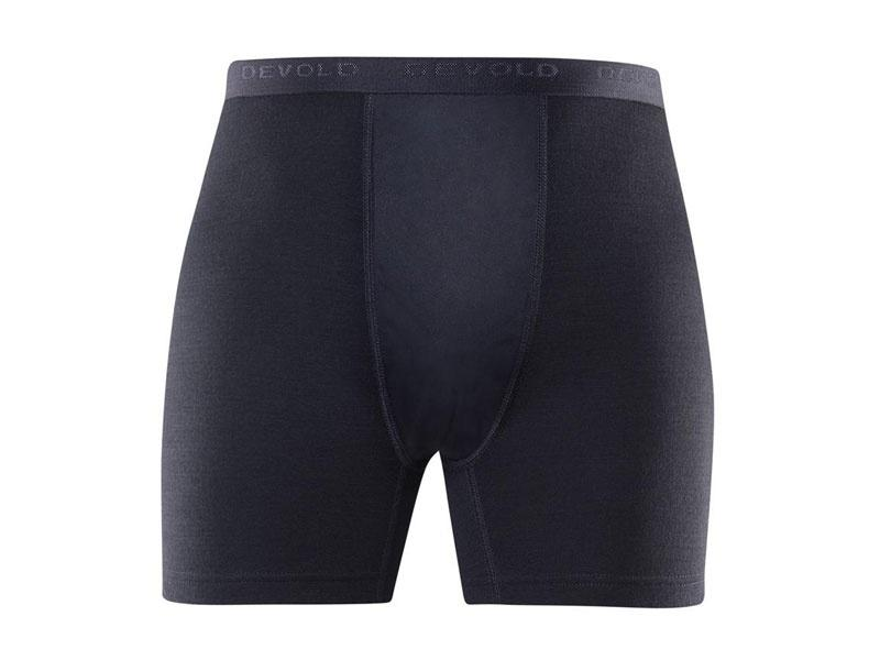 Devold Duo Active Man Boxer W/WINDSTOPPER black - L