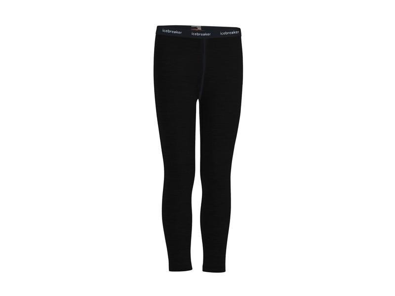 Icebreaker Kids Oasis Leggins black - 8