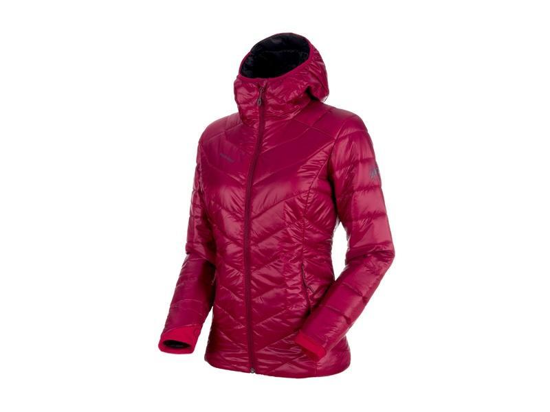 e17997837 Mammut Rime IN Hooded Jacket W beet/phantom   Sportrysy.sk