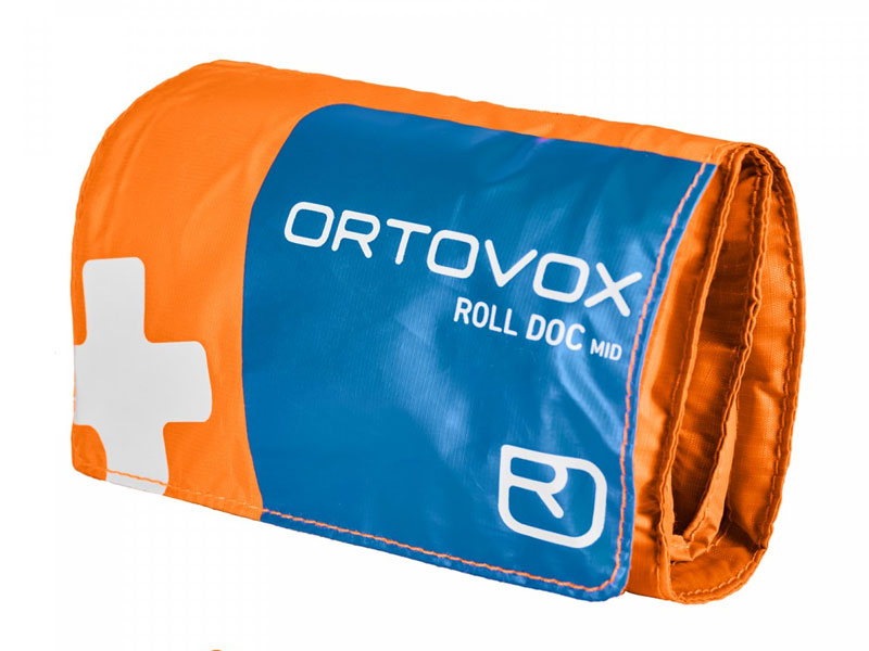 Ortovox First Aid Roll Doc Mid Shock orange