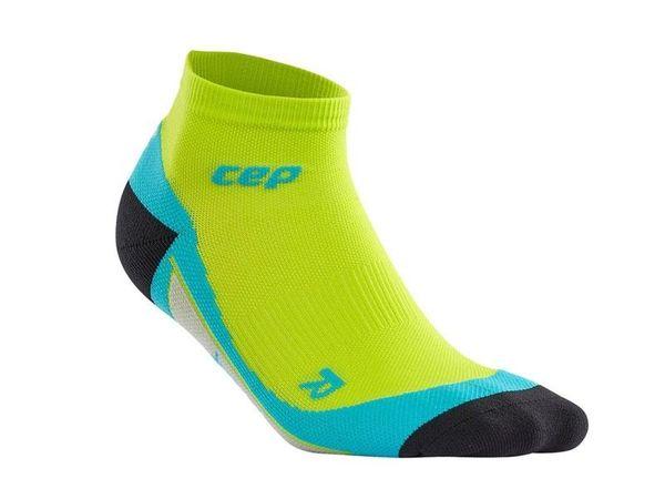 CEP kompresné členkové ponožky pánske lime/hawii blue