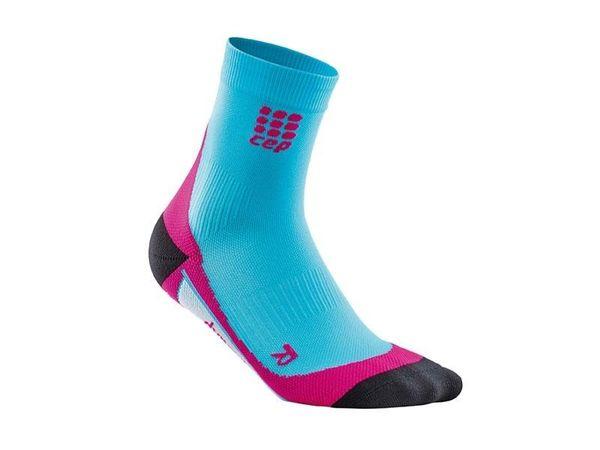 CEP krátke kompresné ponožky dámske hawaii blue