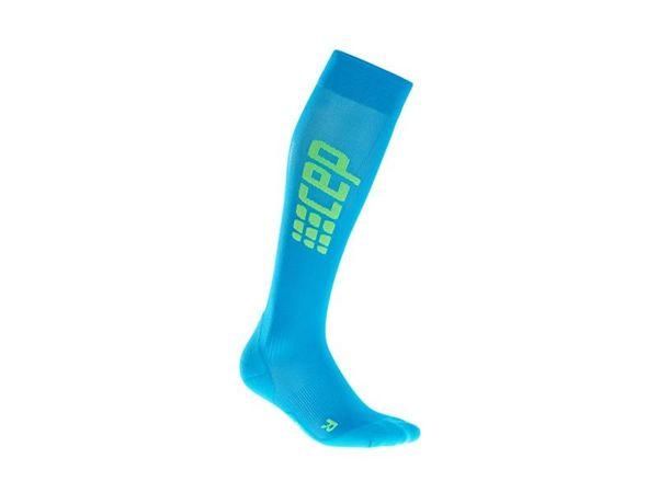 CEP Run Ultralight Socks W electric blue/green