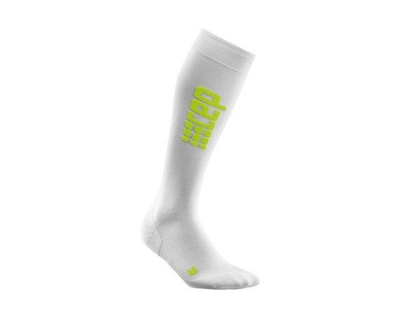 CEP Run Ultralight Socks W white/green