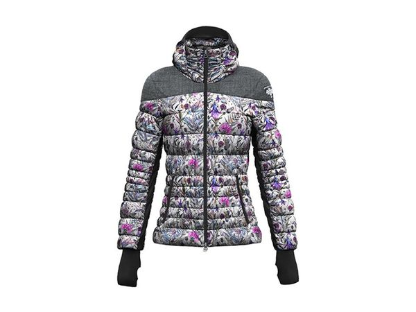 Crazy Idea W Crows Jacket print felci white