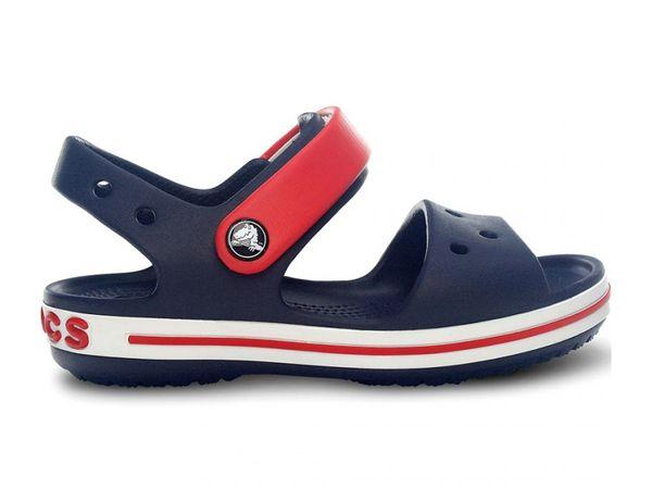 Crocs Crocband Sandal K navy/red