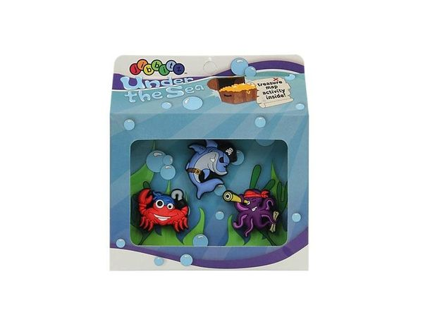 Crocs Jibbitz Under the Sea 3 pack