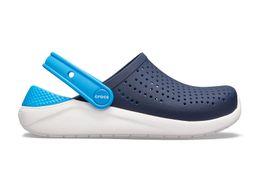 33bdf66ef3ff6 Crocs Literide Clog Kids navy/white