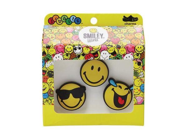 Crocs Smiley Brand Cool 3-Pack