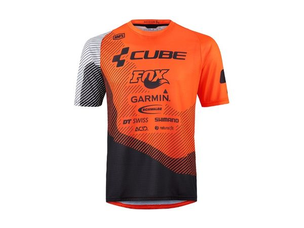 Cube Edge Round Neck Dres Action Team Short