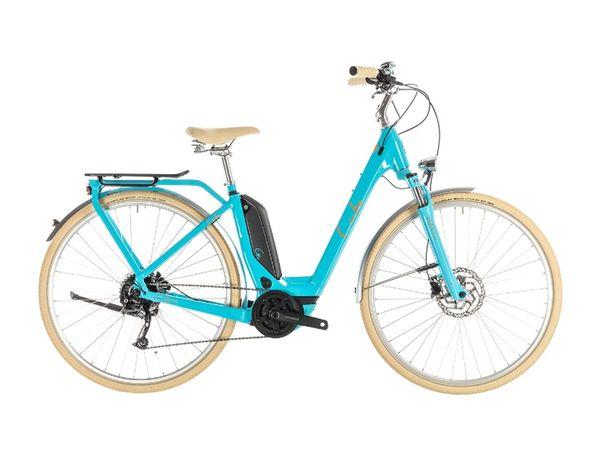 Cube Elly Ride Hybrid 500 2019 aqua/orange