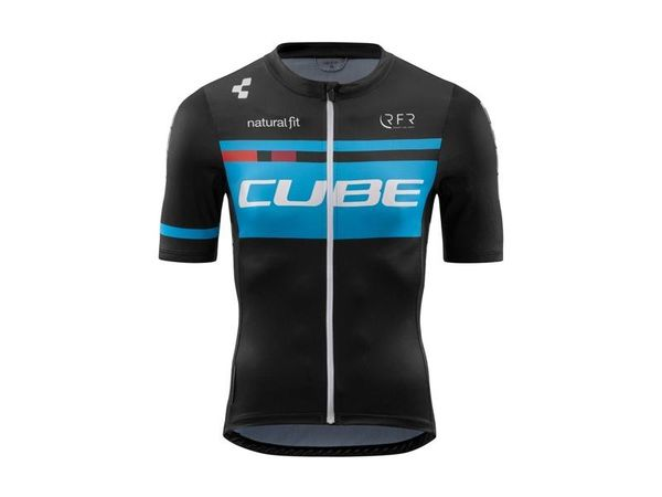 Cube Teamline Jersey Competition S/S black/blue