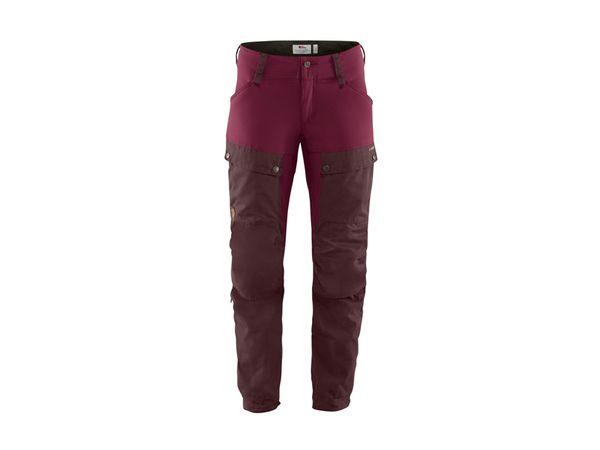 Fjällräven Keb Trousers W dark garnet/plum