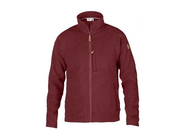 Fjällräven Buck Fleece red oak