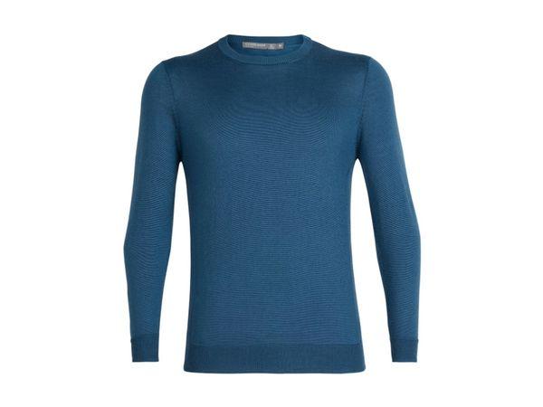 Icebreaker Mens Cool-Lite Quailburn Crewe Sweater thunder
