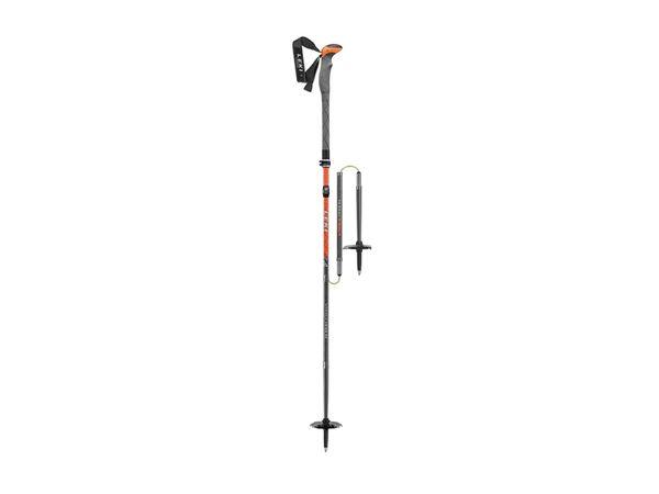 Leki Tour Stick Vario Carbon wh-orange-grey