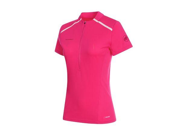 Mammut Atacazo Light Zip T-shirt W pink