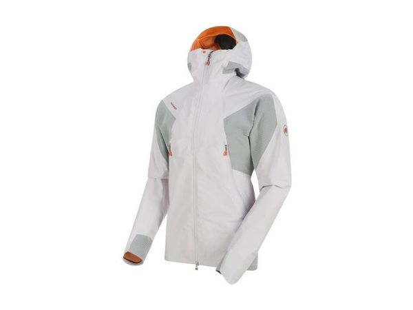 Mammut Nordwand HS Flex Hooded Jacket M marble/granit