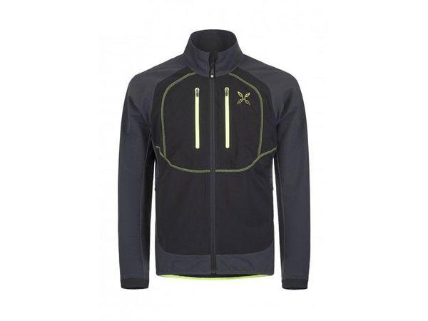 Montura Free Tech Jacket antracite/giallo fluo