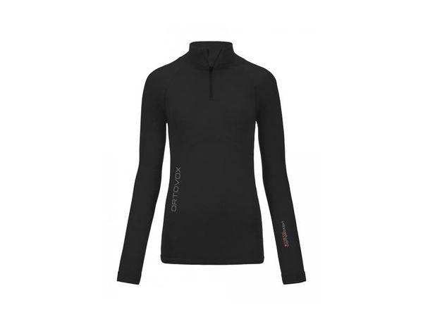 Ortovox 230 Merino Competition Long Sleeve Zip W black raven