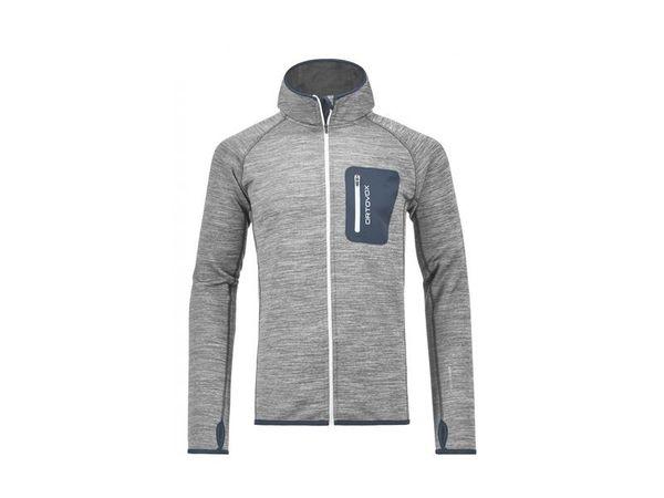 Ortovox Fleece Melange Hoody M grey blend