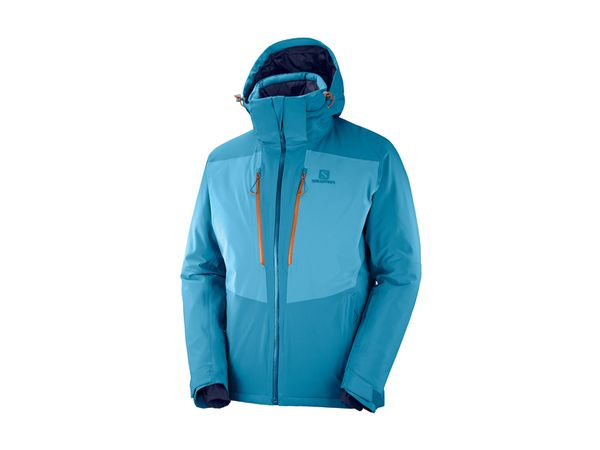 Salomon Icefrost Jacket M lyons blue/fjord blue